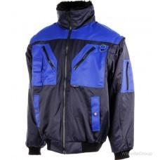 Теплая куртка трансформер Wurth/Modyf ALLROUND PLUS темно-синий/синий