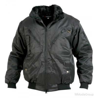 Теплая куртка трансформер Wurth/Modyf ALLROUND PLUS черная
