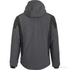 Зимняя технологичная куртка softshell ONE антрацит