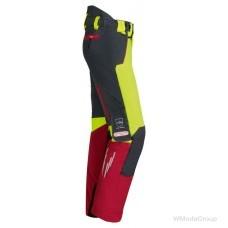 Брюки для защиты от порезов бензопилы WATEX Stretch Forest Jack Red