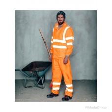 Дождевые брюки WURTH / MODYF повышенной видимости EN 20471 оранжевые