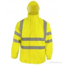 Дождевик Prevent ® повышенной видимости - ASATEX - RJG, цвет: неоново-желтый