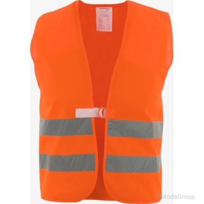 Жилет безопасности ASATEX - цвет: ярко-оранжевый