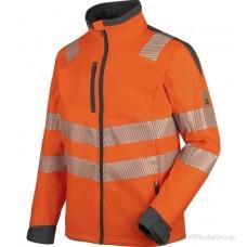 Куртка WURTH / MODYF софтшелл повышенной видимости NEON EN 20471 оранжевый антрацит