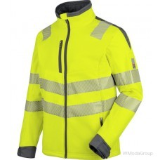 Куртка WURTH / MODYF софтшелл повышенной видимости неоновая EN 20471 желтый антрацит