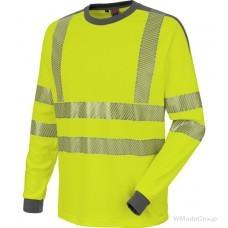 Рубашка с длинными рукавами WURTH / MODYF неоново-желтого цвета повышенной видимости