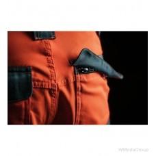 Зимние брюки WURTH / MODYF повышенной видимости NEON EN 20471 оранжевый антрацит