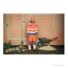 Зимняя парка WURTH / MODYF повышенной видимости 3 в 1 NEON EN 20471 оранжевый антрацит