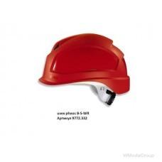Защитный шлем Uvex Pheos B-S-WR; 51-61 cm; красный; короткий носик