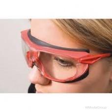Очки защитные WURTH / UVEX skyguard NT, цвет красный / черный