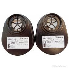 Байонетный фильтр A2 Wurth / Dräger X-plore® комплект 2 шт.