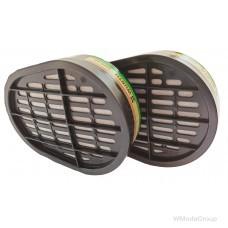Байонетный фильтр ABEK1 Wurth / Dräger X-plore® комплект 2 шт.