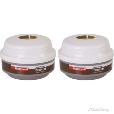 Фильтры для полумаски Honeywell North A2P3 крепление байонет 1035455 упаковка 2 шт.