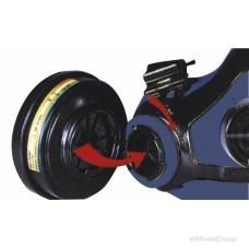Фильтры HONEYWELL SPERIAN А2Р3 для защиты от газов, пыли, противоаэрозольные комплект 2 шт.