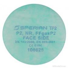 Фильтры HONEYWELL SPERIAN Р2 для защиты от газов, пыли, противоаэрозольные комплект 2 шт.
