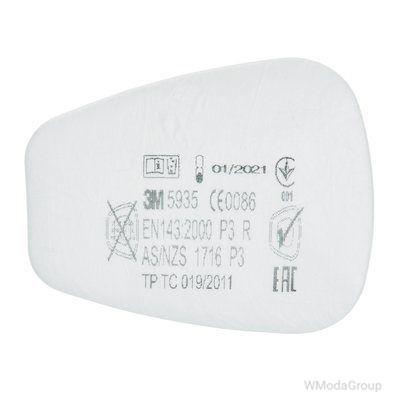 Предварительный фильтр 3M 5935 P3 комплект 1 пара