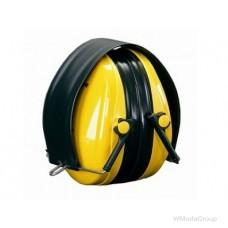 Наушники 3M™ PELTOR™ Optime™ I, 28 дБ, желтые, со складным оголовьем, H510F-404-GU