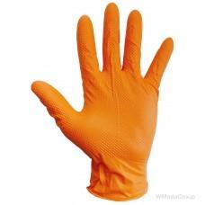 Нитриловые перчатки WURTH GRIP Оранжевые 50 шт. упаковка
