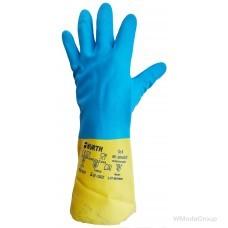 Перчатка WURTH для защиты рук от химии из хлоропрена и латекса