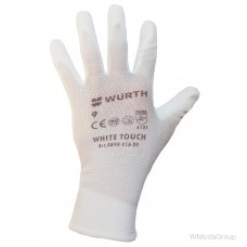 Перчатки сборщика WURTH White Touch