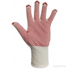 Перчатки WURTH тонкая вязка с точечным виниловым покрытием