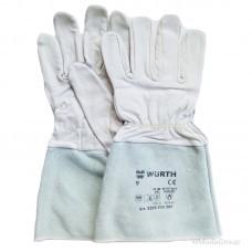 Профессиональные тактильные сварочные перчатки WURTH из козьей кожи
