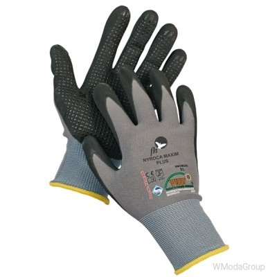 NYROCA MAXIM DOTS Перчатки покрытые нитрилом
