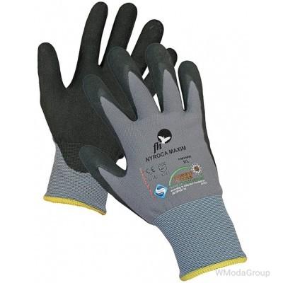 Защитные трикотажные перчатки NYROCA MAXIM из смеси нейлона и лайкры