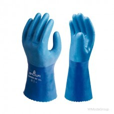 Высококачественная герметичная нитриловая перчатка с полиуретановым покрытием SHOWA 281
