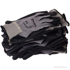 Легкие, дышащие перчатки WURTH с полиуретановым покрытием ладони
