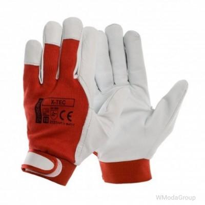 Перчатки X-TEC кожаные рабочие, козья кожа