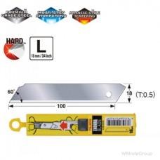 Лезвие цельное 18мм TAJIMA SOLID Endura-Blade LCB50SN, 10 шт.