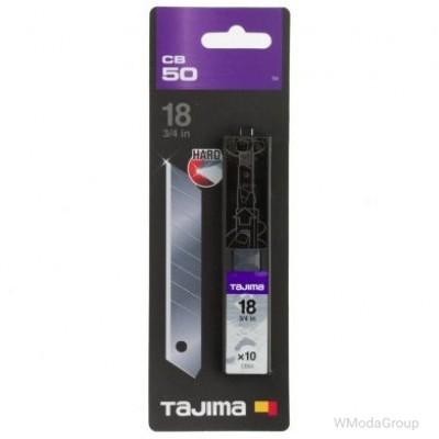 Сегментные лезвия Premium 18мм TAJIMA DORA Endura Blades CB50, 10 шт.